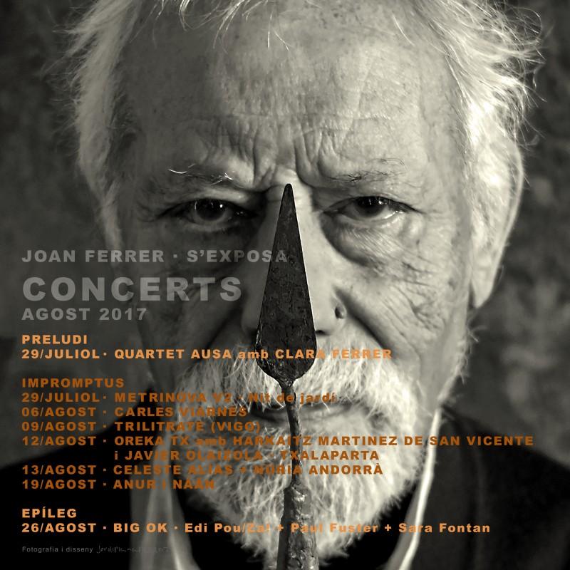 Cartell Concert JOAN FERRER_8ab